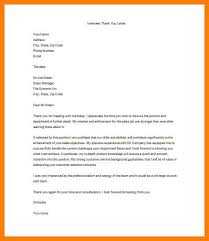 6 Example Thank You Letter After Interview Letmenatalya