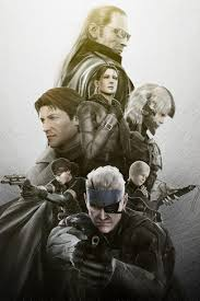 metal gear solid characters iphone 4s wallpaper