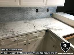 kitchen countertops resurfacing white marble kits right over your existing s kitchen countertop refinishing cost