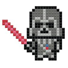 Template Star Wars Pixel Art Template Beads By Color Shock