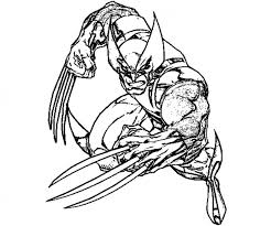 Small Picture Get This Free Preschool Wolverine Coloring Pages to Print OLoEv
