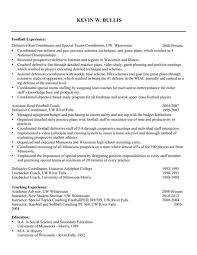 Basketball Coaching Resume Writeessay ml