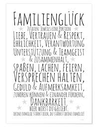 Ingredients For Family Happiness German Posters And Prints