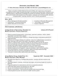Example Of Resumes For Medical Assistants Medical Assistant Resume Examples Sample Of A Medical Assistant