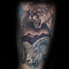40 Lion Tetování Vzory Pro Muže Zvíře Nápady