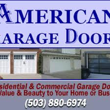 garage doors portlandAmerican Garage Doors  Garage Door Services  Northeast Portland