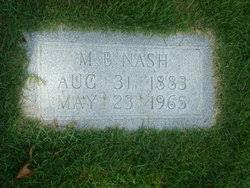 Marshall Barton Nash (1883-1965) - Find A Grave Memorial