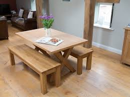 best oak benches for dining tables oak dining table and benches