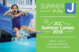 a summer of fun is around the corner for almost 70 years the new orleans jcc has provided a superior quality c experience for children ages 21 months to