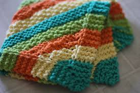 Knitted Dish Towel Pattern