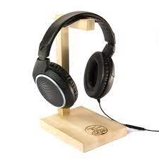 Hang Ahşap Kulaklık Standı ve Kulaklık Tutucu, Askısı - AlbierWoods