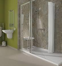 walk in shower tray