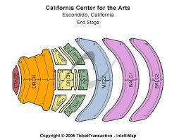 Concert Hall At California Center For The Arts Escondido