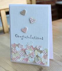best 25 homemade wedding cards ideas only on pinterest homemade Wedding Card Craft Pinterest blush crafts cards clean and simple Pinterest Card Making Ideas