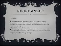Min Wage Speech