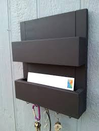 mail and key rack 2 pocket mail and key rack mail organizer mail and key holder