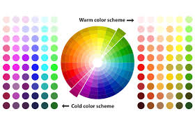 Color Contrast Combination Chart How To Match Colors In Your Clothes With Color Wheel Guide