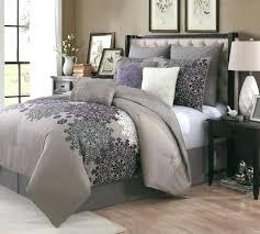 purple comforter set gray and purple comforter set s poppy purple and gray comforter set purple