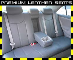 toyota camry leather seat covers