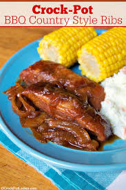 crock pot bbq country style ribs
