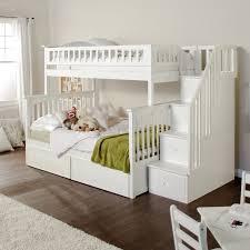 kids furniture modern. Modern Kids White Bunk Beds Furniture