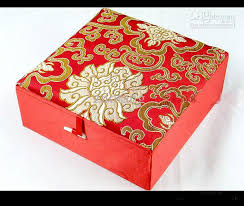 Decorative Holiday Boxes Cotton Filled Huge Jewelry Gift Boxes Wholesale High Quality 29