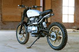 turning the honda cm400 into an urban