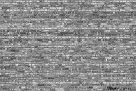 old brick wall mural black and white sold by aboutmurals ca