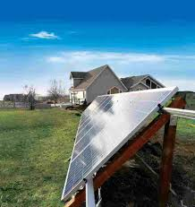though roof mounted systems are popular if you have limited space ground mounted systems are easier to maintain