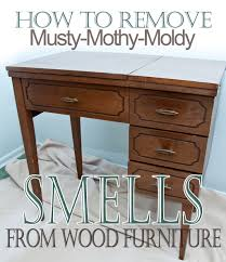 How To Remove Musty Mothy Moldy Smells From Wood Furniture