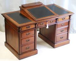 traditional office decor. Antique Mahogany Dickens Writing Desks With Drawers For Traditional Office Decor Idea