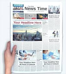 The Times Newspaper Template Old Newspaper Template Publisher Editable Olden Times