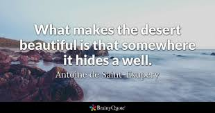Quotes About The Desert Beauty Best of Desert Quotes BrainyQuote
