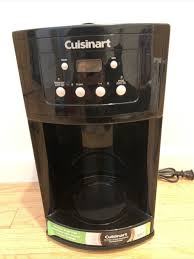 One thing with cuisinart appliances is that you'll never feel left out on the programmable features. Dcc500 12 Cup Programmable Coffee Maker By Cuisinart For Sale Online Ebay