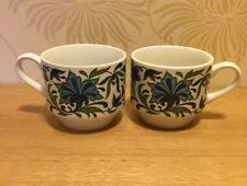 Small Picture British Midwinter Pottery Cups Saucers eBay