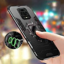 <b>Armor Shockproof Ring Holder</b> Case For Xiaomi Redmi Note 9S ...