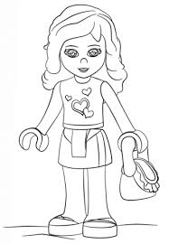 Small Picture Lego Friends coloring pages Free Coloring Pages