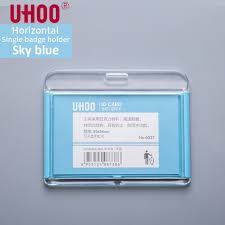 Work Identity Card New Uhoo 6027 Acrylic Credit Card Holders Exhibition Work Id Card