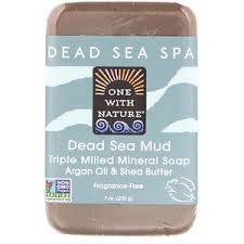 One with Nature, <b>Triple Milled Mineral Soap</b> Bar, Dead Sea Mud ...