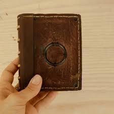 little magic book vintage leather journal