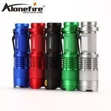 Alonefire <b>SK68 CREE XPE Q5</b> LED Mini Flashlight Portable ...