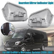 Mercedes Sprinter Side Light Bulb Us 7 7 46 Off 1pcs Right Left Led Front Side Mirror Turn Signal Light Lamp Blinker For Vw For Crafter For Mercedes Sprinter 06 17 0018229020 In Car