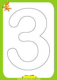 Small Picture Best Photos of Number 3 Coloring Printable Coloring Number 3