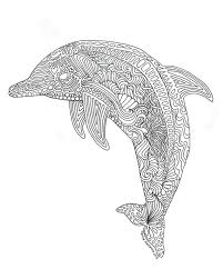 Small Picture Dolphin Coloring Pages For Adults Cutesecretsme