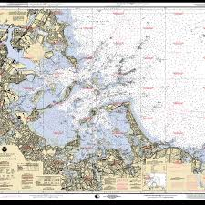 Boston Outer Harbor And Hull Massachusetts Nautical Ocean