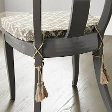 dining room chair cushions without ties dining room