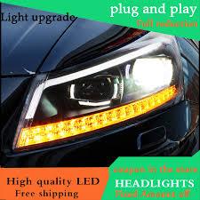 2013 Honda Accord Parking Light Us 531 25 15 Off Car Styling Headlight For Honda Accord 8th Headlights 2008 2013 Moving Turn Light Head Lamp Led Drl Front Light Bi Xenon Lens In