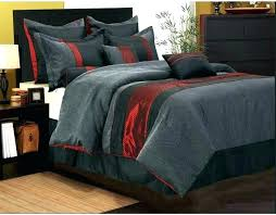 full size of brown and white rugby stripe bedding black red comforter set twin size attractive