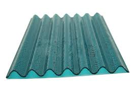 uv coating clear corrugated polycarbonate roof panel high tensile strength