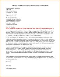 Junior Process Engineer Cover Letter For Entry Level Example Job